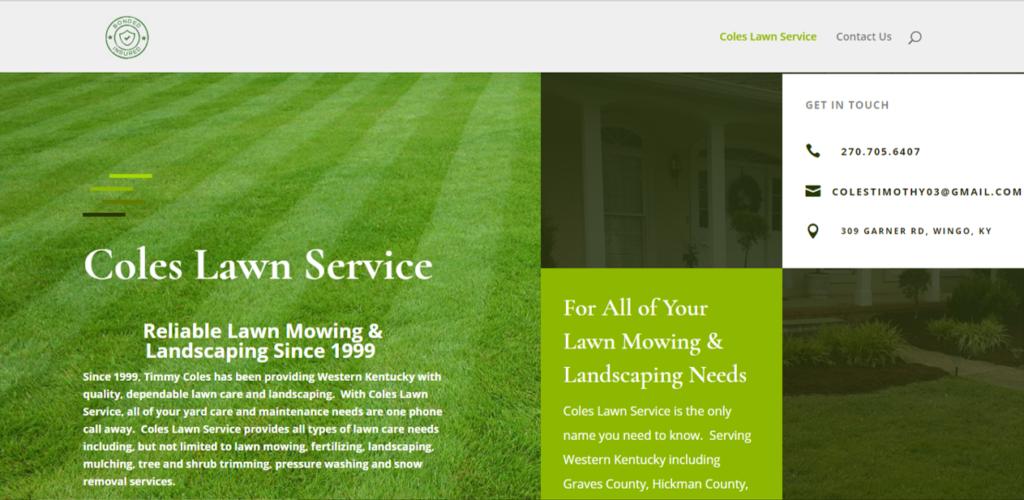 Website Design Mayfield KY